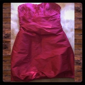 NWOT Alexia Admor Strapless Bubble Dress